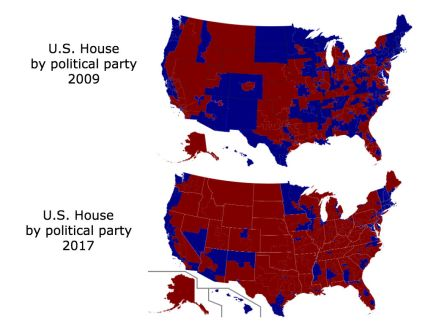 Democracy Stolen We Must End Gerrymandering Center Of The Aisle - Us house of representatives map 2017